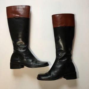 Enzo Angiolini Mornay Leather Riding boots. Sz 6m
